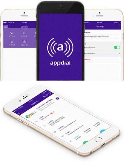 Appdial - Đơn giản hóa số điện thoại truyền thống