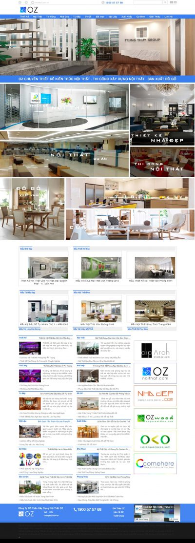 Công ty thiết kế nội thất OZ