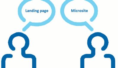 Những khác biệt cơ bản cần biết khi so sánh Landing Page vs Microsite