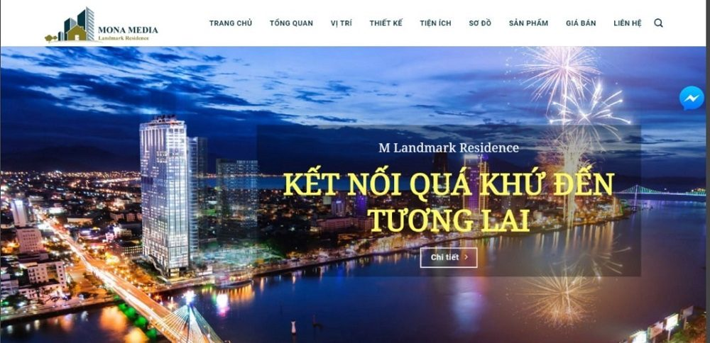 Landing Page bất động sản nâng cao hiệu quả kinh doanh