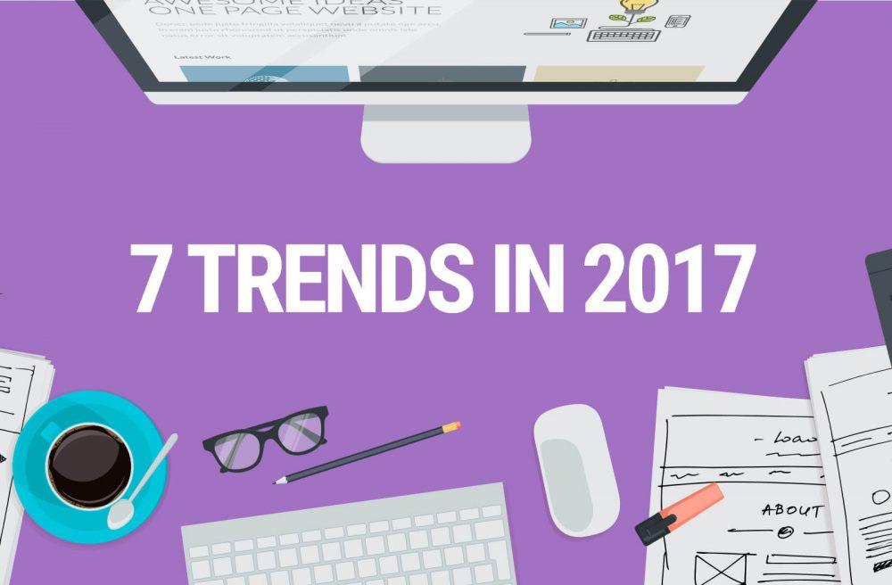 Dự đoán xu hướng thiết kế website 2017