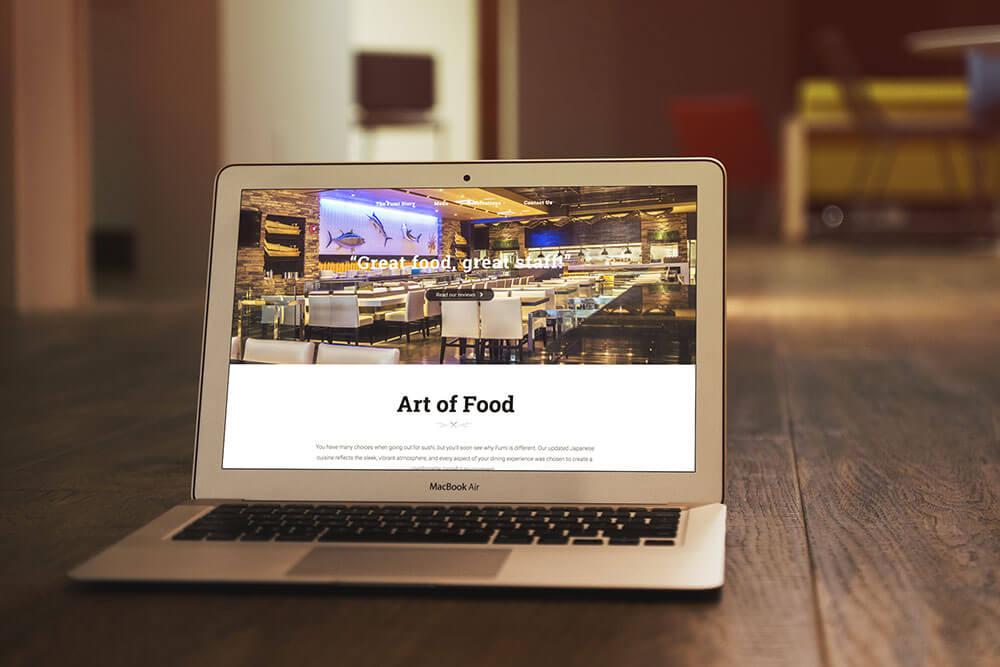 Nghệ thuật thiết kế giao diện website hàng độc đáo