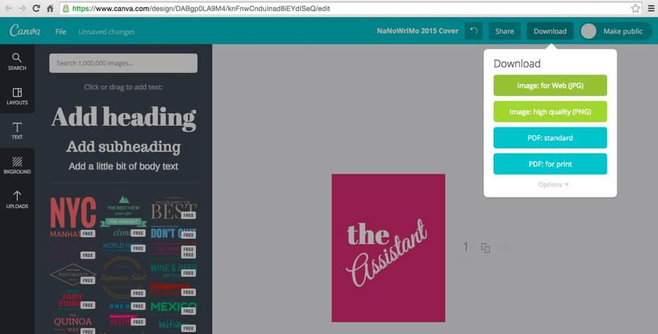 Canva- công cụ hỗ trợ Marketing cho việc thiết kế