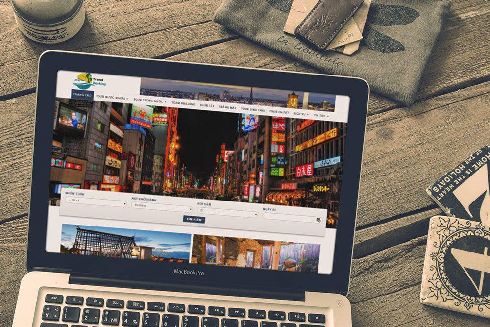 Thiết kế website đặt tour