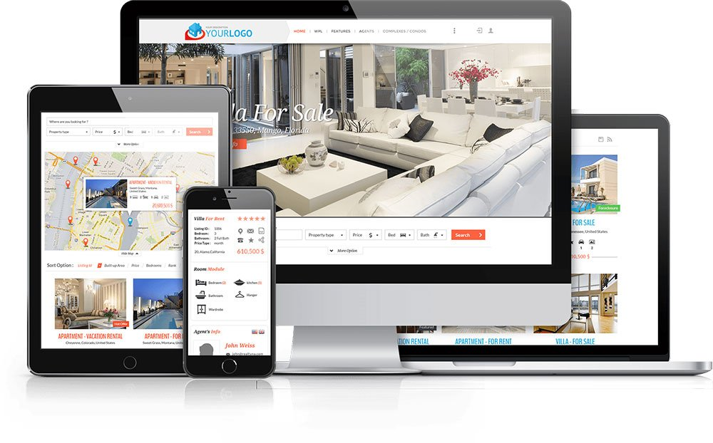 Thiết kế website rao vặt bất động sản