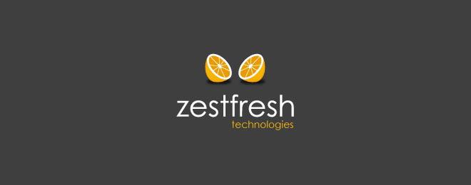 thiết kế logo trái cây - mona media -06