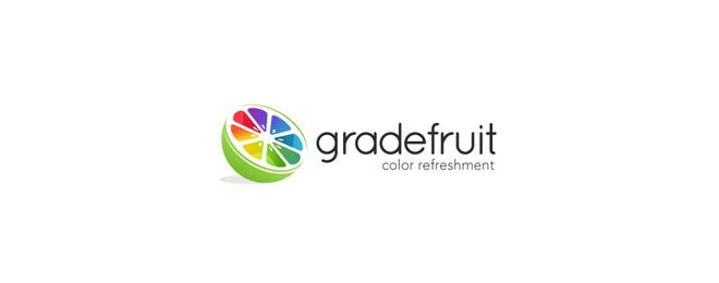 thiết kế logo trái cây - mona media -13