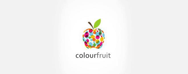 thiết kế logo trái cây - mona media -18