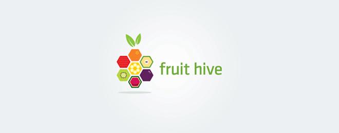 thiết kế logo trái cây - mona media -26
