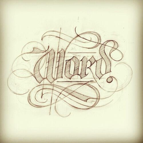 Tự tay tạo mẫu chữ đẹp