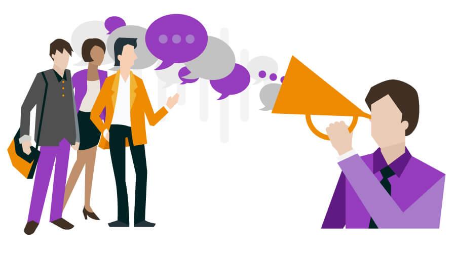 Lắng nghe khách hàng là bí quyết để tăng like facebook.