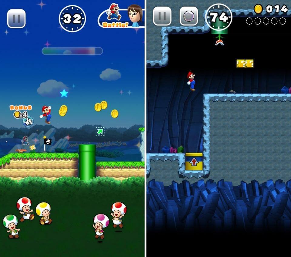 Game Mario kinh điển đã trở lại trên Iphone