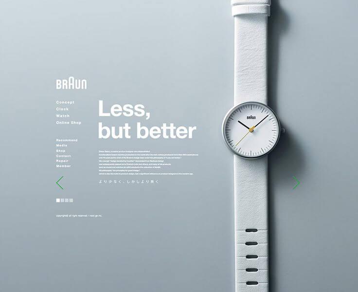 Tối ưu thiết kế website tối giản