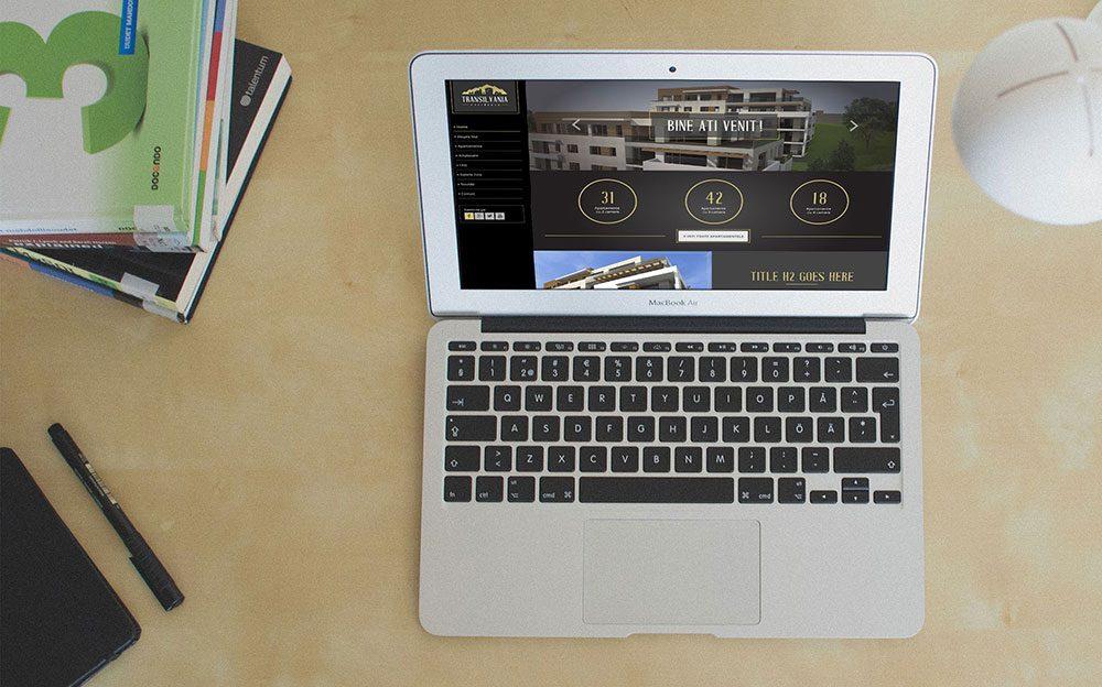 Thiết kế website giới thiệu căn hộ