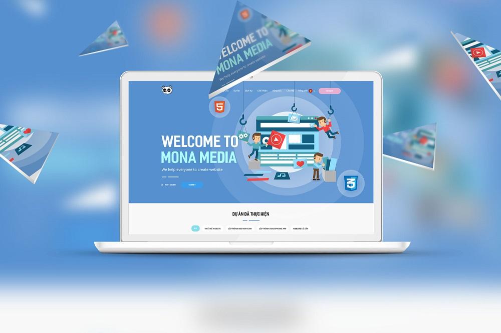 hiết kế website chuẩn SEO chuyên nghiệp và cao cấp tại Mona Media