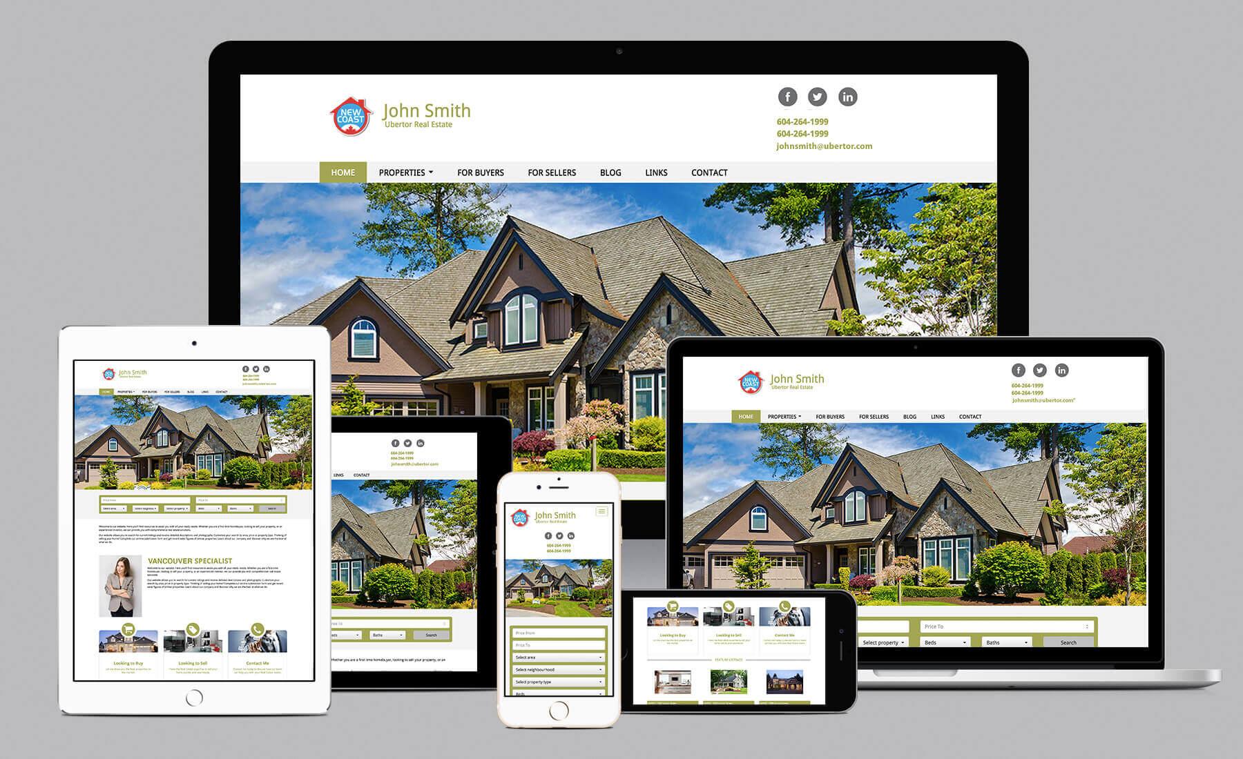 Vì sao nên sở hữu website bất động sản responsive