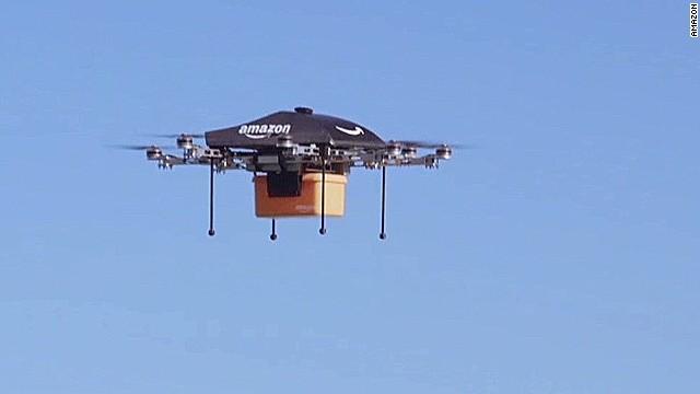 Amazon là gì? Máy bay không người lái của Amazon.