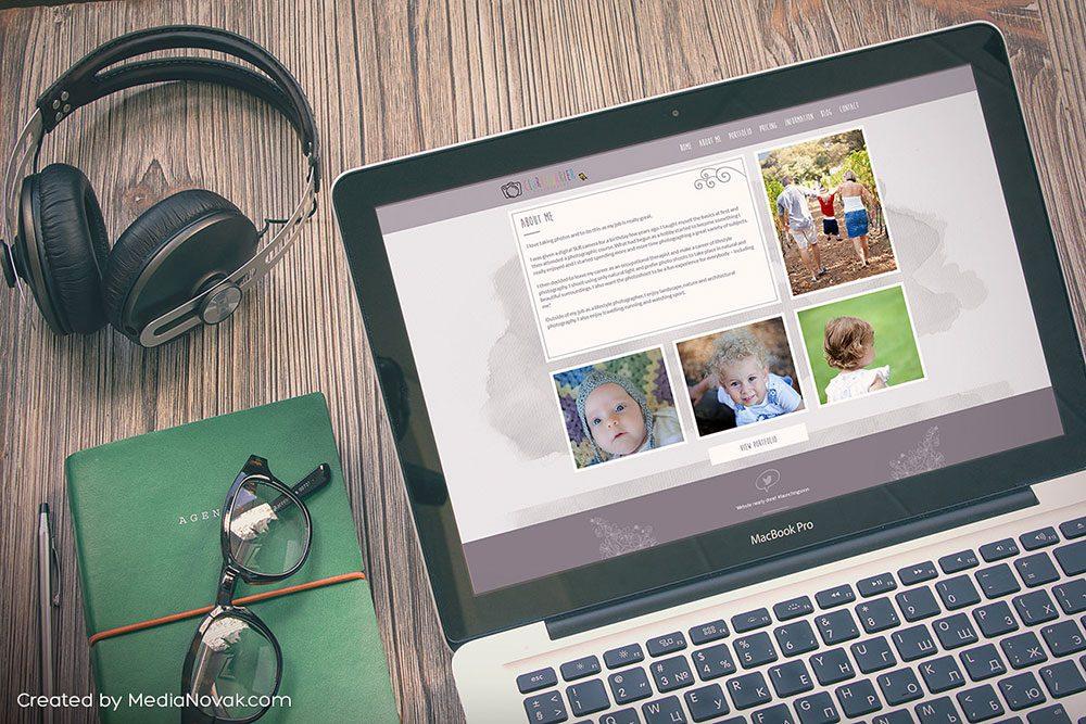 Thiết kế website nhiếp ảnh