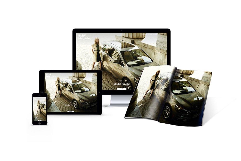 Thiết kế website tạp chí