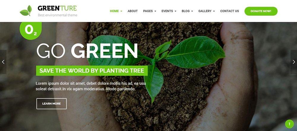 Thiết kế website môi trường