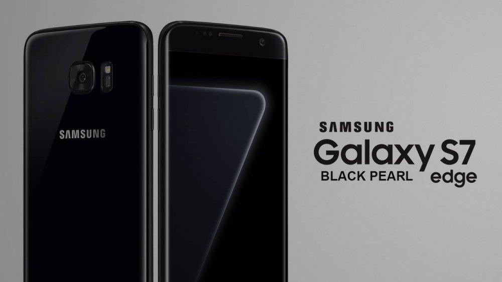 Review, đánh giá Samsung S7 Edge Black Pearl đen bóng