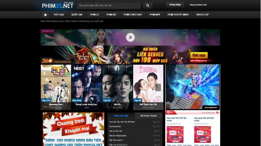 Web xem phim – tổng hợp 10 trang web phim online hot nhất hiện nay