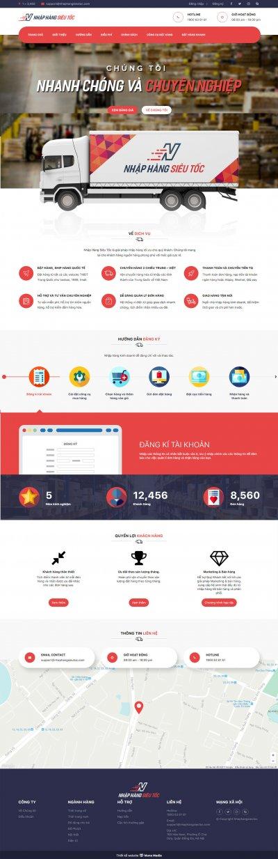 Nhập hàng siêu tốc - Thiết kế Website Chức Năng Đặt Hàng Taobao