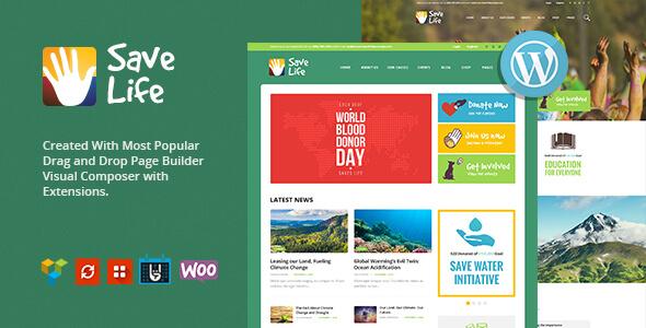 Mẫu website tin tức về môi trường, sức khoẻ