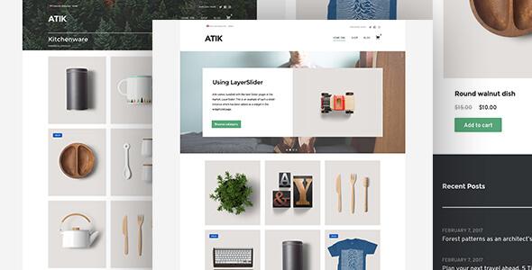 Mẫu website bán hàng handmade, phụ kiện, nội thất và lifeStyle