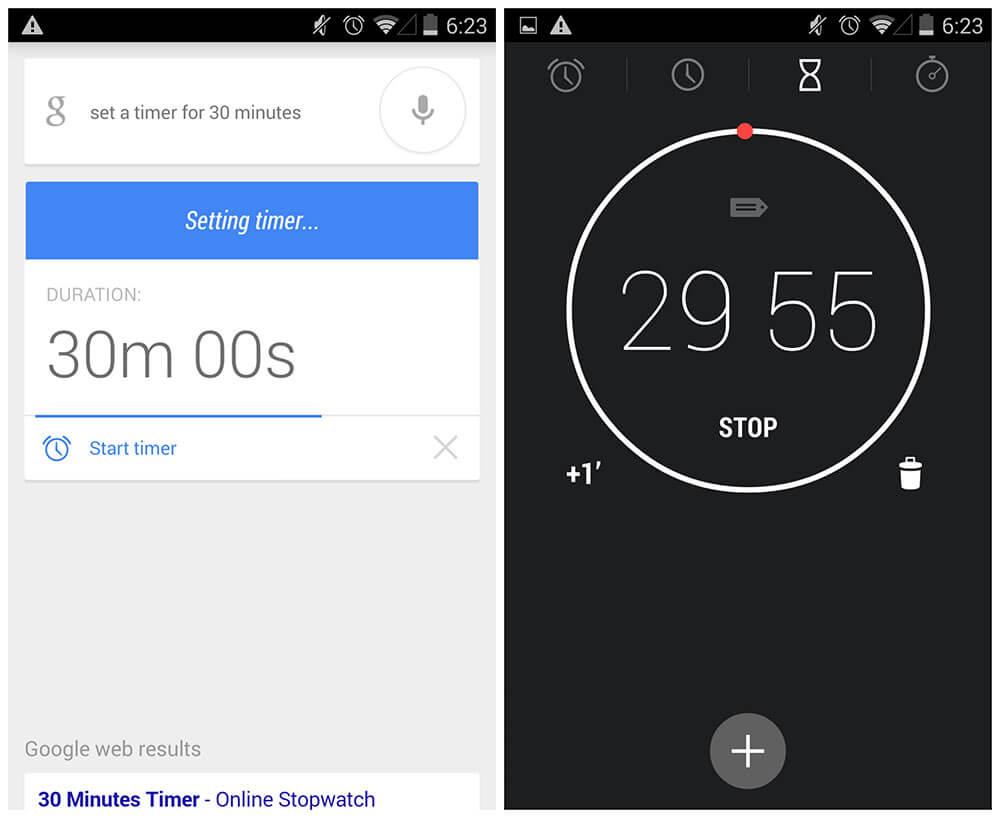 Google Timer Apps