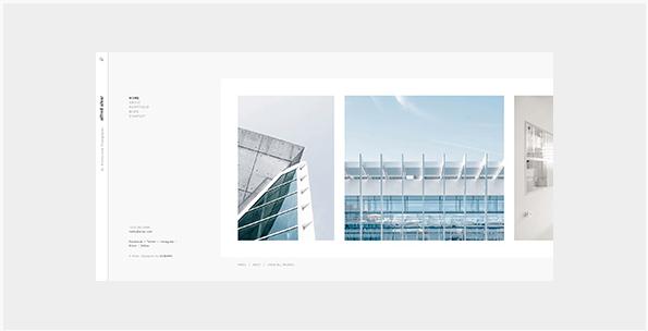 Mẫu website nhiếp ảnh dành cho Photographer