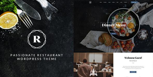 Mẫu thiết kế website nhà hàng chuyên nghiệp