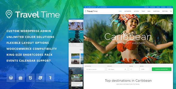 Mẫu website du lịch chuyên nghiệp