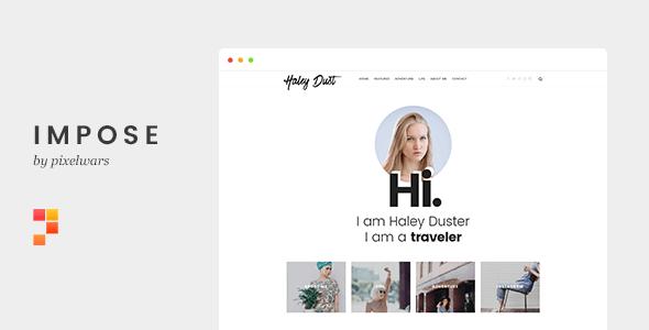 Mẫu website blog cá nhân