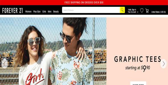 Mẫu website bán hàng thời trang nam nữ | Thiết kế website bán hàng thời trang nam nữ
