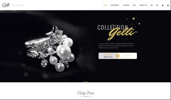 Mẫu website bán hàng phụ kiện chuyên nghiệp