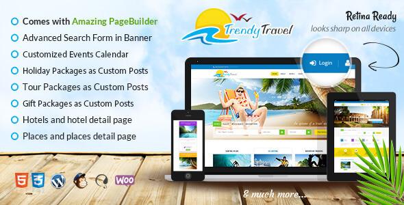 Mẫu website giới thiệu công ty du lịch ấn tượng