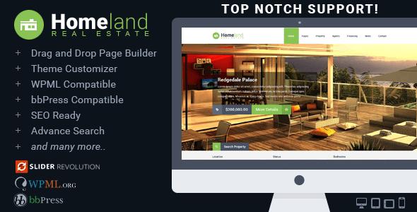 Mẫu website bất động sản tối ưu chức năng