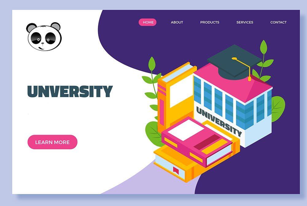 Thiết kế website trường học, cơ sở đào tạo giáo dục