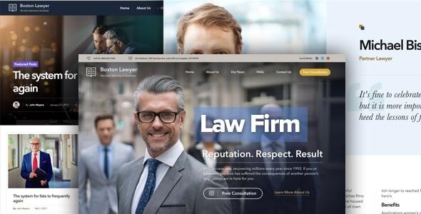 Mẫu website công ty luật chuẩn SEO