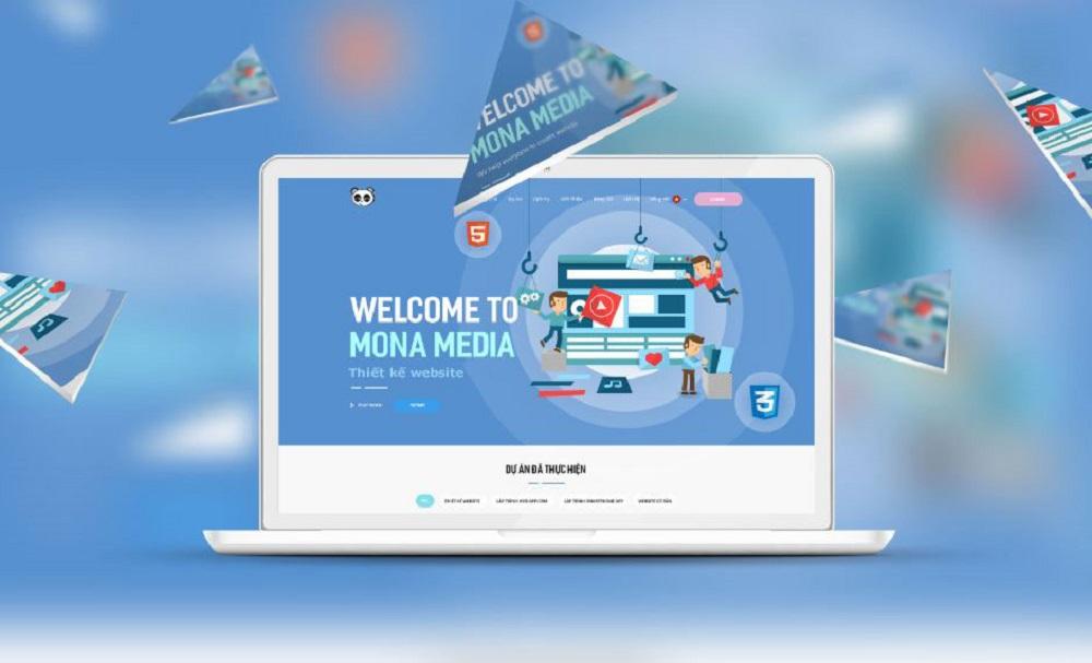 viết website bán vé máy bay tại mona media