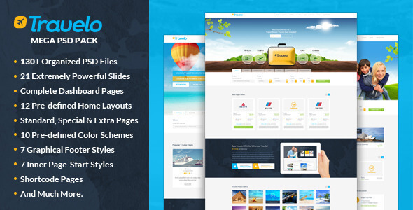 Mẫu thiết kế website du lịch hiện đại