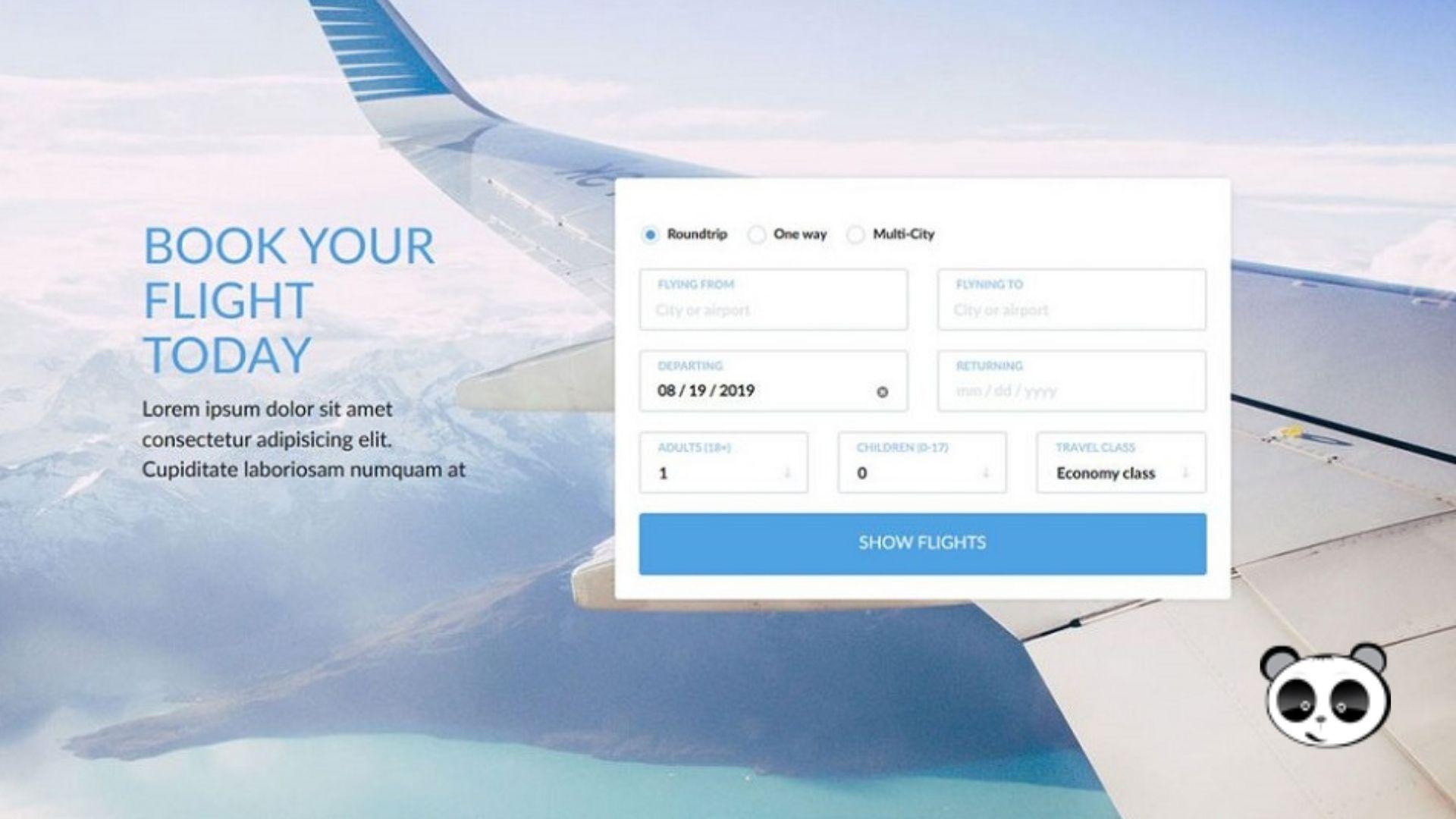 lợi ích của việc thiết kế website bán vé máy bay