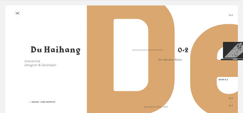 kỹ thuật typography trong thiết kế website
