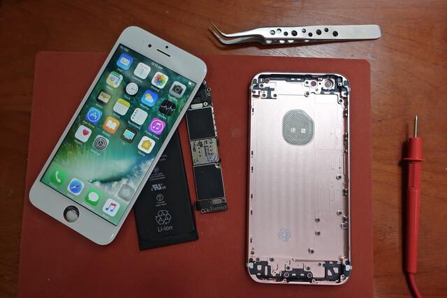 Phục dựng Iphone 6S vì mê chợ phụ kiện