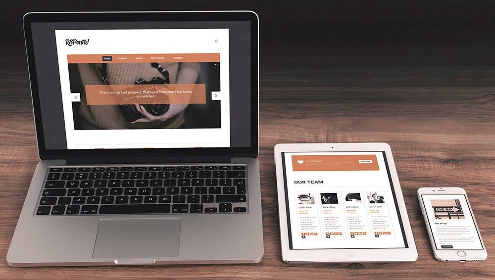 Thiết kế website responsive - phiên bản di động