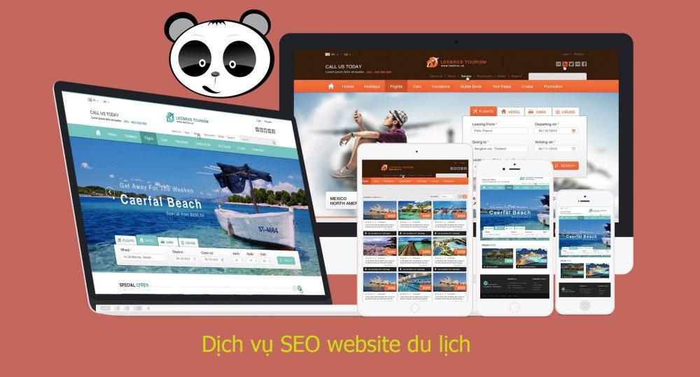 Dịch vụ SEO website du lịch