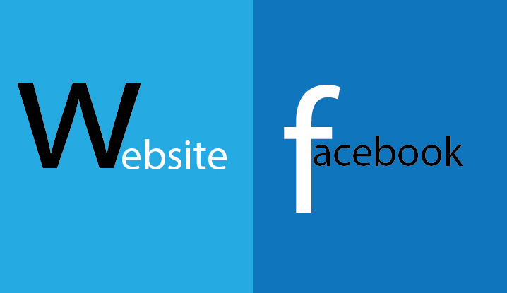website vs fanpage