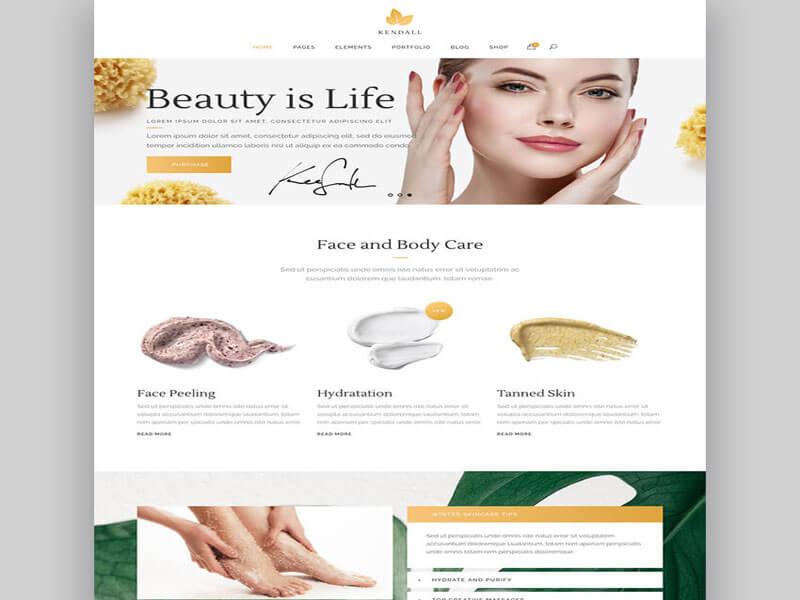 Thiết kế website spa làm đẹp để quảng bá thương hiệu