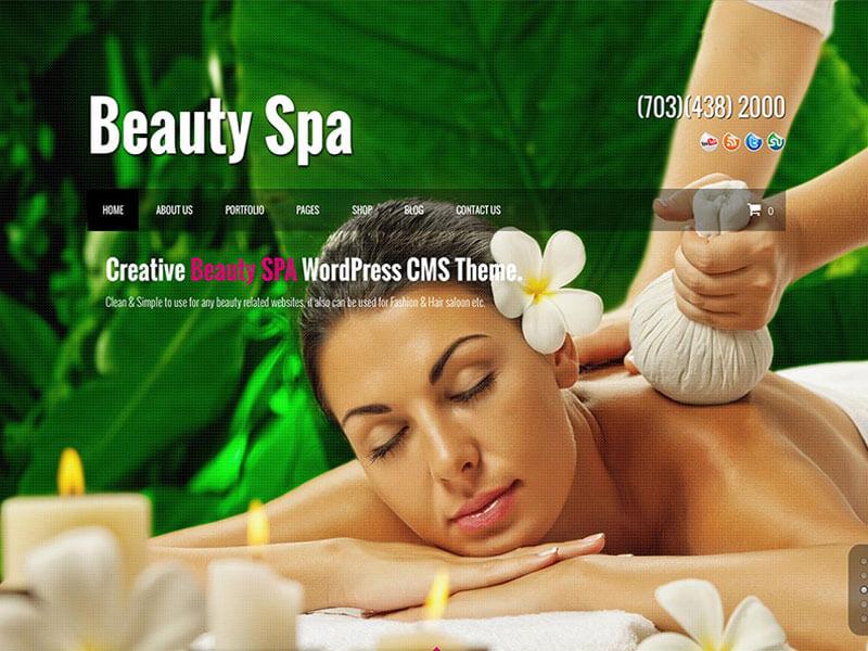 Tính năng nổi bật mẫu website spa làm đẹp của Mona Media